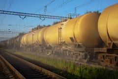 Depósitos de gasolina Fotografia de Stock