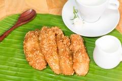 Dep Fried Banana Stock Images