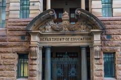 Departament Edukacji na Bridżowej ulicie, Sydney CBD Zdjęcia Stock
