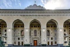Departamento administrativo da estrada de ferro - Baku, Azerbaijão fotos de stock