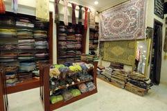 Departamento con los productos árabes Fotos de archivo