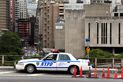Departamento da polícia de New York City - (NYPD - NYCPD) Foto de Stock