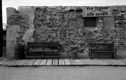 Departamento de arma viejo de Tucson Imagen de archivo