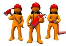 Departamento de bomberos libre illustration