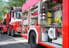 Departamento de bomberos Imagen de archivo