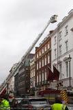 Departamento de bomberos de Londres Imagen de archivo libre de regalías