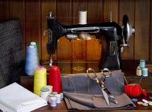 Departamento de costura imágenes de archivo libres de regalías