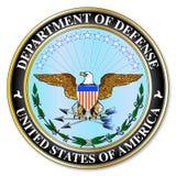 Departamento de Defesa ilustração do vetor