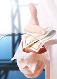 Departamento de dinheiro fotos de stock royalty free