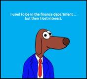 Departamento de finanzas ilustración del vector