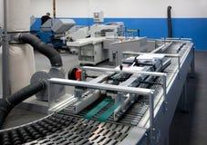 Departamento de impresión (impresión) de la prensa - línea de acabamiento Imagenes de archivo