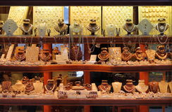 Departamento de joyería Fotografía de archivo libre de regalías