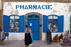 Departamento de la farmacia Foto de archivo libre de regalías
