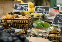 Departamento de la fruta y de las verduras fotografía de archivo
