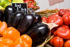 Departamento de la fruta y de las verduras Foto de archivo