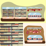 Departamento de la lechería libre illustration