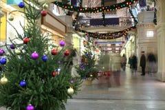 Departamento de la Navidad Imágenes de archivo libres de regalías