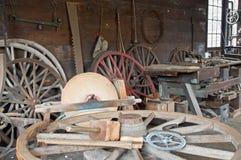 Departamento de la rueda del carro del Victorian Foto de archivo libre de regalías