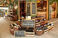 Departamento de la tienda de platos preparados en Viktualien Markt, Munich Fotografía de archivo libre de regalías