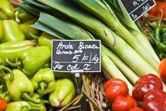 Departamento de las verduras foto de archivo libre de regalías