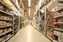 Departamento de los materiales de construcción Fotos de archivo libres de regalías