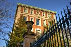 Departamento de matemática na Universidade de Columbia foto de stock