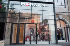 Departamento de Moragn en la calle de Han Imagenes de archivo
