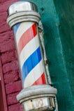 Departamento de peluquero poste Imagen de archivo libre de regalías