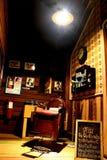 Departamento de peluquero retro Fotos de archivo
