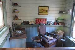Departamento de peluquero viejo Foto de archivo libre de regalías