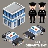 Departamento de Policía Fotografía de archivo libre de regalías
