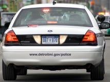 Departamento de Policía de Detroit Michigan Imagen de archivo libre de regalías