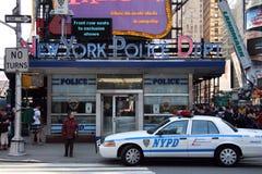 Departamento de Policía de Nueva York Imágenes de archivo libres de regalías