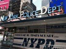 Departamento de Policía de Nueva York Imagen de archivo libre de regalías