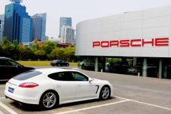 Departamento de Porsche Foto de archivo libre de regalías