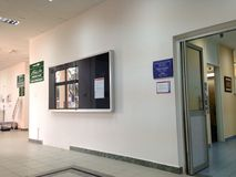 Departamento de raio X da clínica de Panaga Foto de Stock Royalty Free