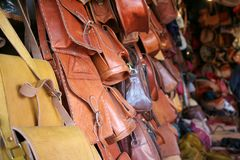 Departamento de recuerdo marroquí fotos de archivo libres de regalías