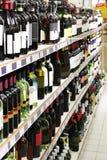 Departamento de vino Fotografía de archivo libre de regalías