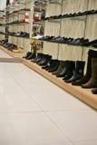 Departamento de zapato Fotografía de archivo libre de regalías