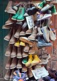 Departamento de zapato, Katmandu, Nepal imágenes de archivo libres de regalías