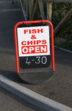 Departamento del pescado frito con patatas fritas. Fotografía de archivo libre de regalías