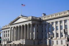 Departamento del Tesoro imágenes de archivo libres de regalías
