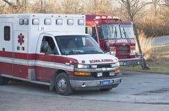 Departamento dos bombeiros de Kansas City Missouri Imagem de Stock