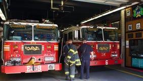 Departamento dos bombeiros de New York Imagens de Stock
