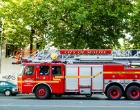 Departamento dos bombeiros de Seattle Imagem de Stock