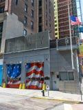 Departamento dos bombeiros Escada Empresa 10 de New York City Foto de Stock