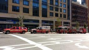 Departamento dos bombeiros, FDNY, NYC, NY, EUA Fotos de Stock Royalty Free