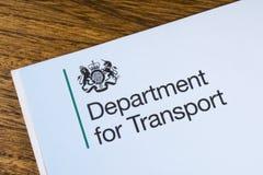 Departamento para el transporte Fotografía de archivo libre de regalías