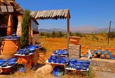 Departamento rural de la cerámica (Crete, Grecia) fotos de archivo