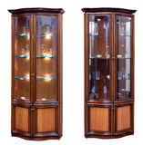 Departamento velho de madeira do stile dois. foto de stock royalty free